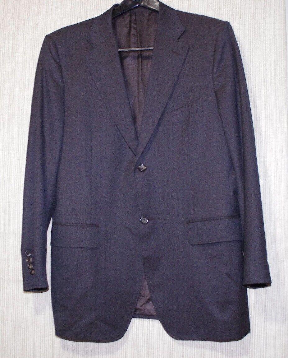 CANALI  Pure Wool grau Braun 2 Button Vents Men Blazer Sport Coat Größe 50