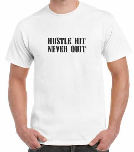 Football Américain T-Shirt Disco-Swing Hit never quit