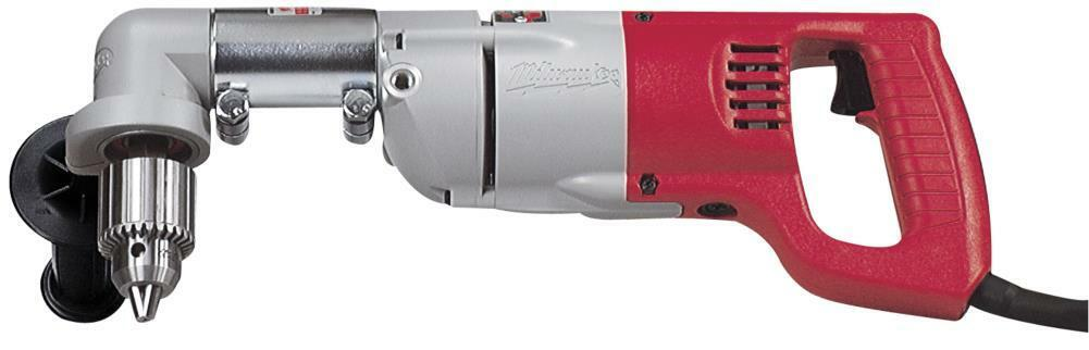 Milwaukee 3107-6 1 2   Corded Right Angle Drill