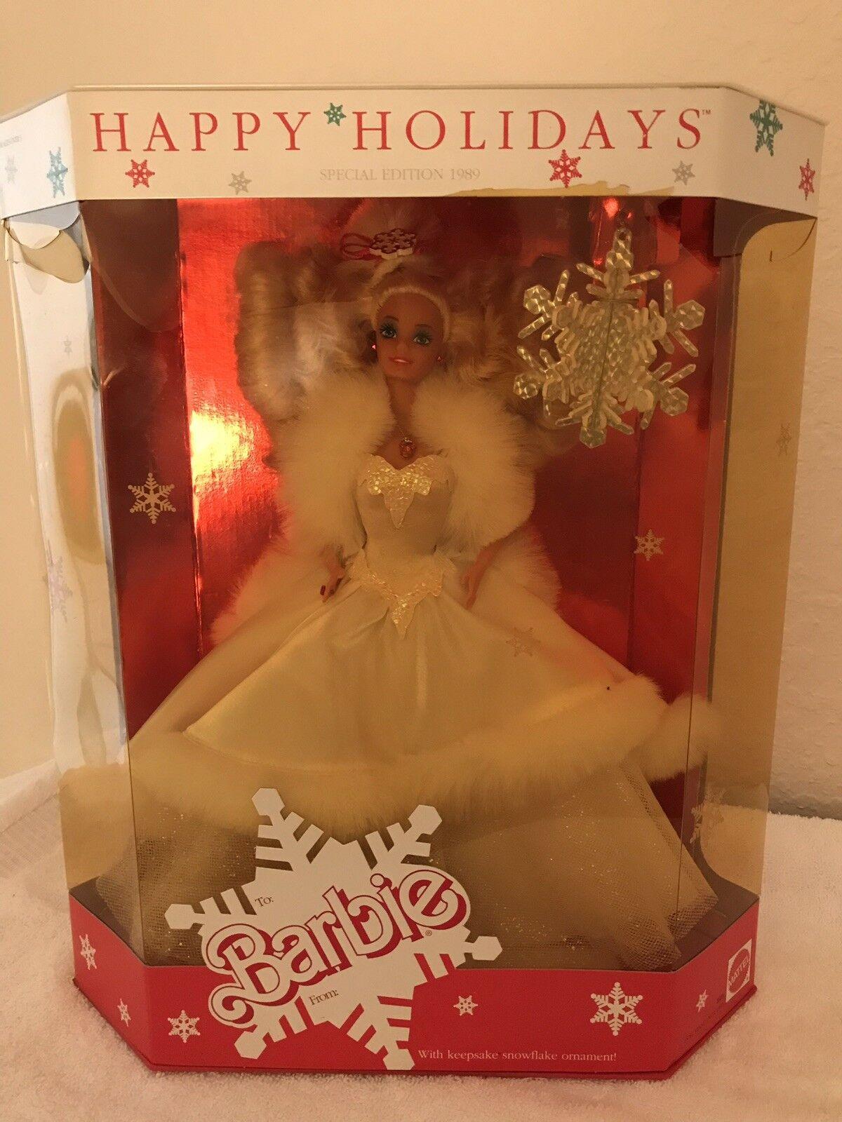 Vacaciones Barbie 1989 Edición Limitada En Caja Como Nuevo