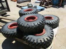 Pair Mono Matic 750 10 Solid Pneumatic Tire