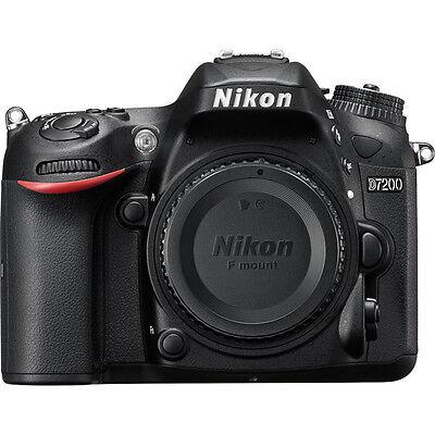 Nikon D7200 24.2MP DSLR Camera Body Only (Black) with Card, Camera Bag (SMP4)