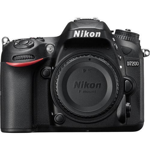 Nikon D7200 DSLR Body (Black) with 16GB Memory Card & GST Invoice