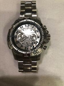 Signature-Ceramic-Chronograph-Men-039-s-Watch-Stainless-Steel-No-7192-item-122