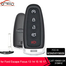 For 2013 2014 2015 2016 2017 Ford Escape Smart Prox Remote Key Fob M3n5wy8609 Fits Ford