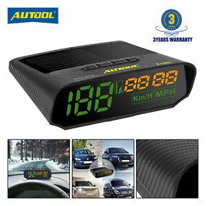 Coche-GPS-Head-Up-Visualizacion-Digital-Velocimetro-Calibradores-km-h-mph-alarma-de-exceso-de