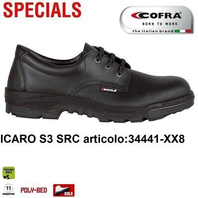 SCARPE ANTINFORTUNISTICA COFRA ICARO S3 SRC idrorepellente TAGLIE+ 48 49 50 51 | eBay