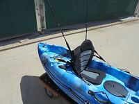 Deluxe Kayak Fishing Seat To Fit Many Sit On Top Kayak For 2015