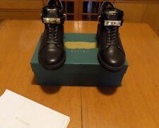 Buscemi 100mm Black Mens Sneaker Calfskin Leather size 44 EU (11US)