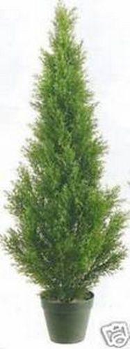 3ft CEDAR OUTDOOR UV TOPIARY TREE ARTIFICIAL CYPRESS PINE FAKE EVERGrün JUNIPER