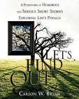 Let's Find Out by Carson W Bryan (Paperback / softback, 2010)