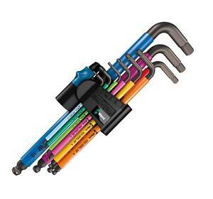 Wera 05022086001 L-Key-Set for 950 PKL//9 BM N Metric