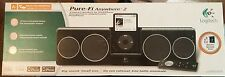 Logitech Pure-Fi Anywhere 2 Compact Speakers For iPod/iPhone S00001 Used