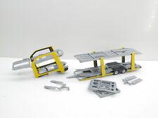 1:87 EM4399 Herpa Autotransporter Eurolohr Aufbau gelb  für   Umbau Eigenbau