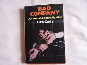 Liza-Cody-BAD-COMPANY-Hardback-D-W-1982-Good-Condition-Book-Club-Associates