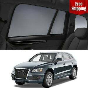 AUDI-Q5-2015-8R-Rear-Side-Car-Window-Sun-Blind-Sun-Shade-For-baby-Mesh