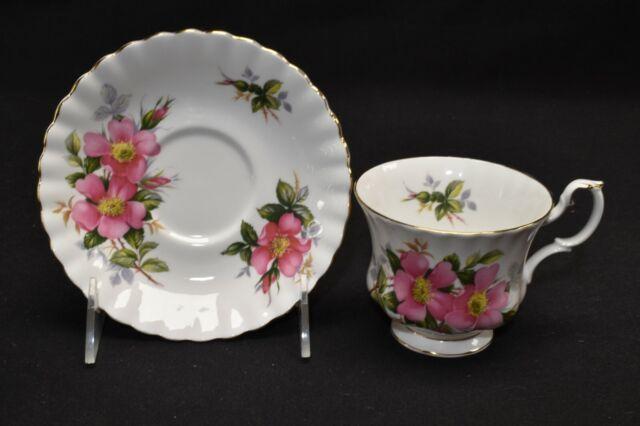 Royal Albert Prairie Rose Cup & Saucer