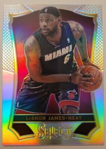 2013-14-Panini-Select-1ST-year-Silver-Prizm-LeBron-James-LOOK-GEM-MINT-PSA-10