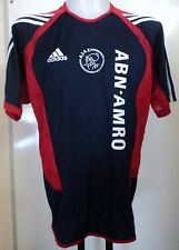 AJAX NAVY/RED TRAINING SHIRT BY ADIDAS ADULTS SIZE 46/48 INCH CHEST BRAND NEW