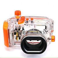 40M Waterproof Underwater Housing Hard Case Bag for Canon WP-DC38 Powershot S95