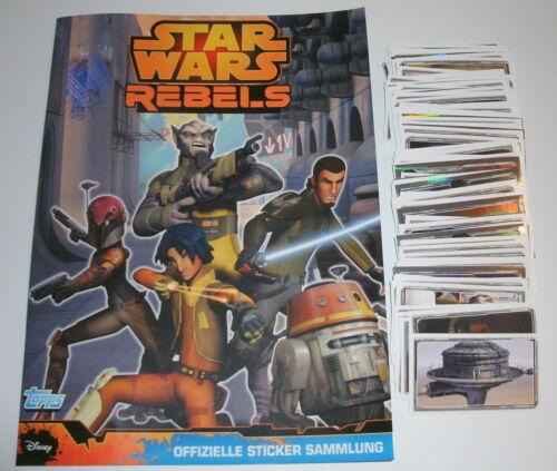 "Topps Star Wars Rebels sticker:/"" 10//20 o 50 para sticker elegir/"""