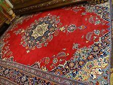 Majestätisch Königlicher Teppich rot  ca. 430 cm  x 310 cm   Wolle KESCHAN