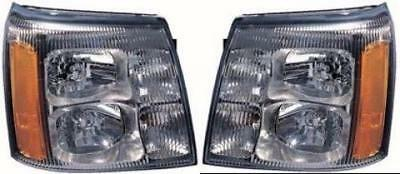 Depo 332-11A7L-ASH Cadillac Escalade Driver Side Replacement Headlight Assembly