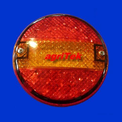 LED Rückleuchte Rücklicht D = 140mm T = 61mm 12 24 Volt Bremslicht Blinker