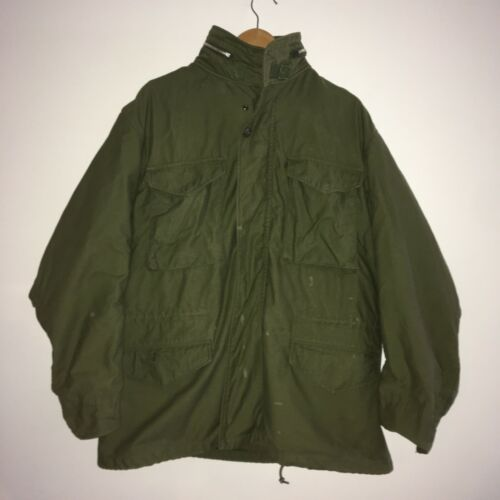 Vintage M65 Coat OG107 1970 Southern Athletic Viet