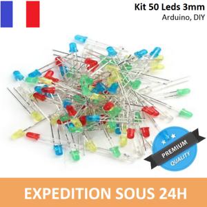 LED 5mm Assortiment rouge//verte//jaune//bleu//blanc Lots 100 ou 200 Arduino