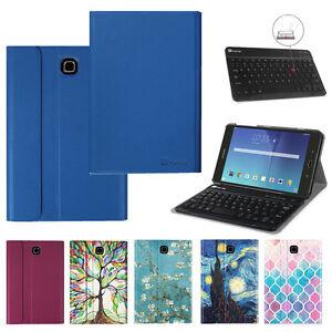 For-Samsung-Galaxy-Tab-E-9-6-8-0-Slimshell-Case-Cover-Detachable-Keyboard