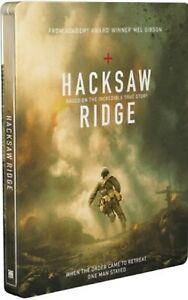 Hacksaw-Ridge-Exclusive-Steelbook-Blu-Ray-DVD-Digital-HD-Brand-New-Sealed