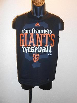 Fanartikel Schneidig Neu W/etiketten San Francisco Giants Jugendliche M 10-12 Adidas Ärmelloses Shirt Halten Sie Die Ganze Zeit Fit