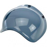 Biltwell Bubble Shield Smoke Bobber Fulmer Bell Face Shield 3/4 Helmet 01310071