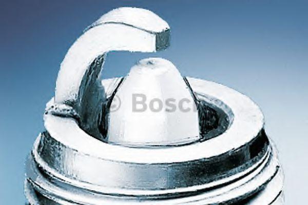 Original OE Bosch Arranque 0242225573/HR9BP Bujía de Platino 3 Pack