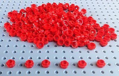 Lego 100 x Lime Green 1x1  Round Flower Plate Stud 24866 New City Friends Garden