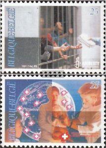 Belgien-2474-2475-kompl-Ausg-postfrisch-1991-Arzte-ohne-Grenzen
