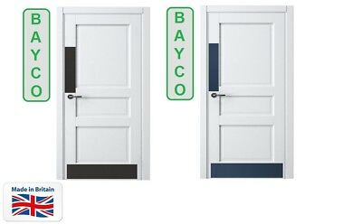 DOOR PROTECTOR//PUSH PLATES FINGER//PUSH//DOOR PLATE. CHOICE OF COLOURS