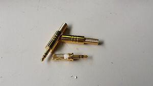 vergoldete-KLINKENSTECKER-3-5mm-STEREO-Set-mit-3-Stueck-5123B