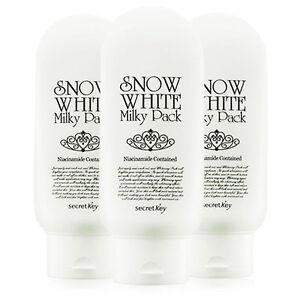 Secret Key Snow White Milky Pack 200g X 3pcs