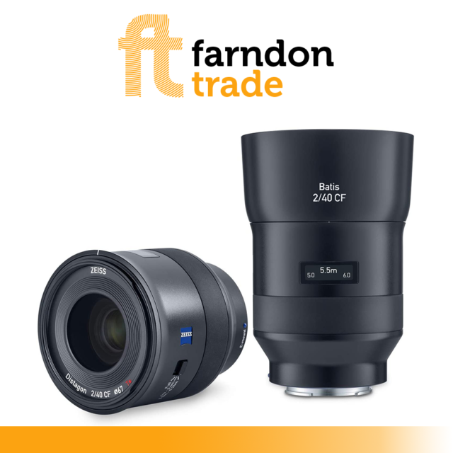 ZEISS Batis 2/40 CF for mirrorless, full-frame system cameras Sony E-Mount