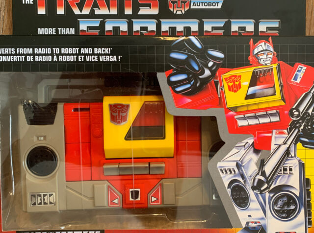 Hasbro Transformers G1 Autobot Blaster Action Figure