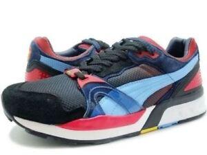 98cf0da5eed270 Puma Men s Trinomic XT2 Whiz Ltd Black Red Blue 35734102 Fashion ...