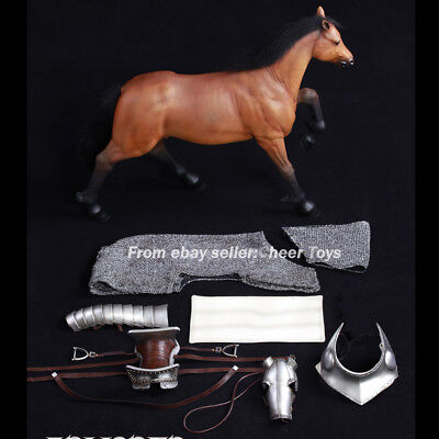 COOMODEL NO.SE014 1//6 Armored Norman Steed Horse In stock