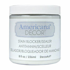 Stain Blocker/Sealer for Chalk Paint Projects by Americana Decor 8 oz