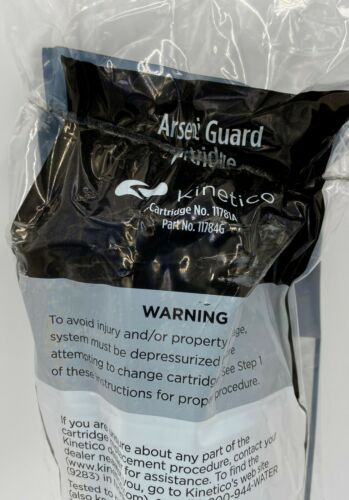 Kinetico Arsenic Guard Cartridge Filter 11781A 11784G