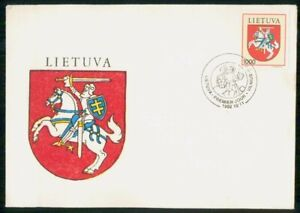 Mayfairstamps Lithuania FDC 1992 Coat of Arms First Day Cover wwk_47573