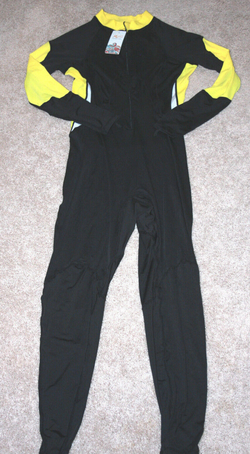 Micosuza Lycra Suit Full Body Rashguard Women's Surf Swim NWT Size XL (M L) a1
