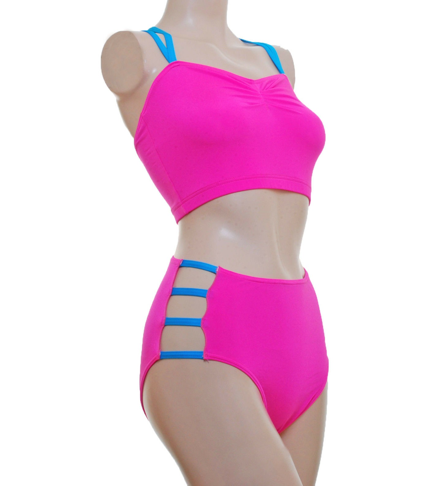 Pole dance palo fitness con spalline ROUCH top&strappy NIX Toffee pink
