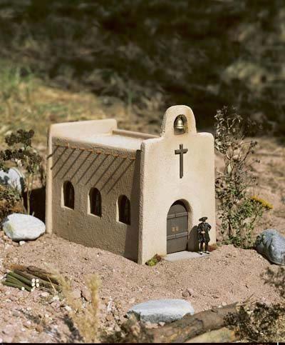 PIKO G SCALE LAS CRUCES CHURCH   BN   62253